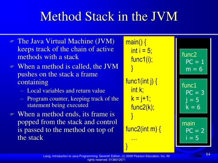 Method Stack in the JVM
