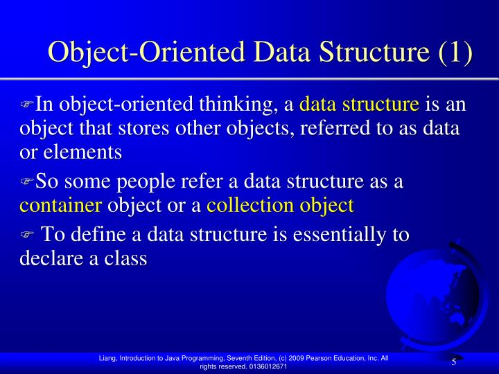 Object-Oriented Data Structure (1)