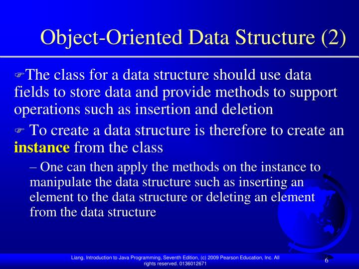 Object-Oriented Data Structure (2)