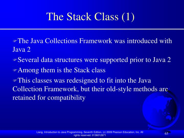 The Stack Class (1)