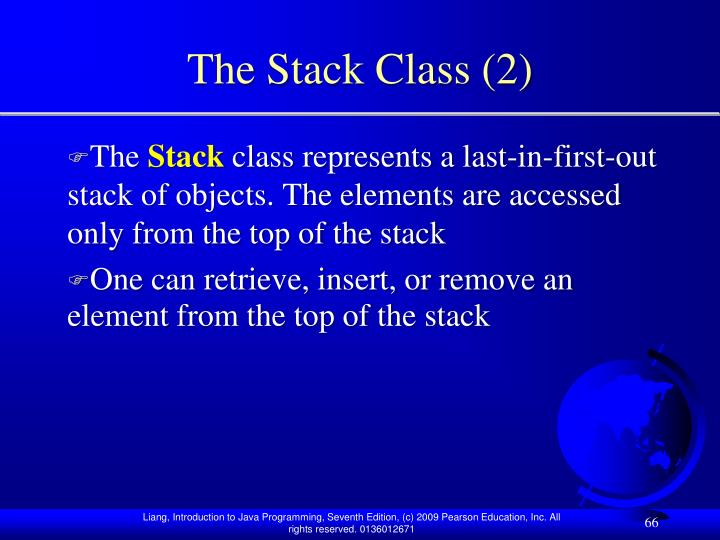 The Stack Class (2)