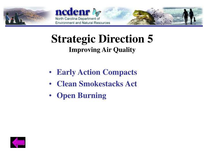 Strategic Direction 5