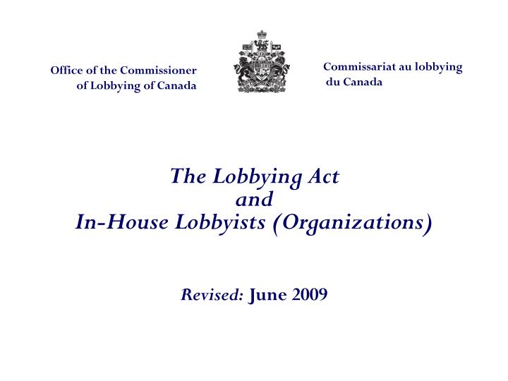 Office of the Commissioner of Lobbying of Canada