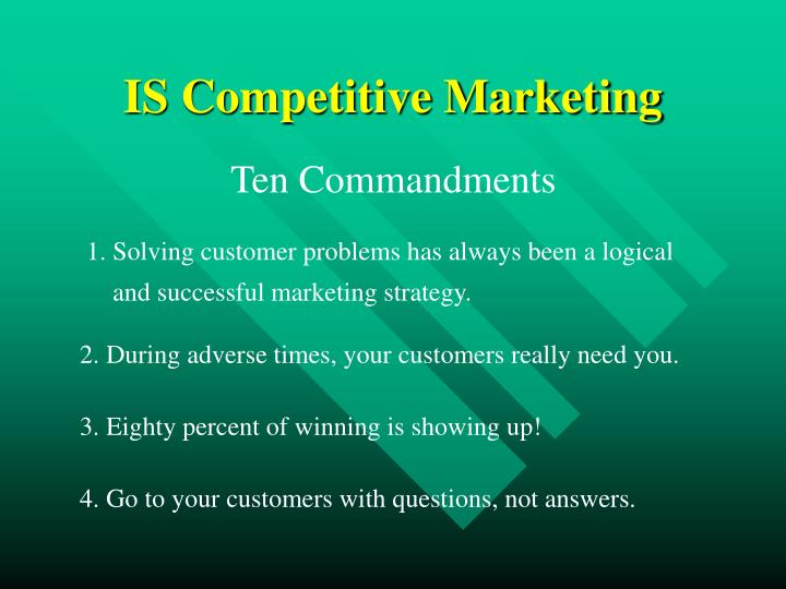 IS Competitive Marketing