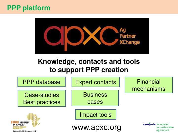 PPP platform