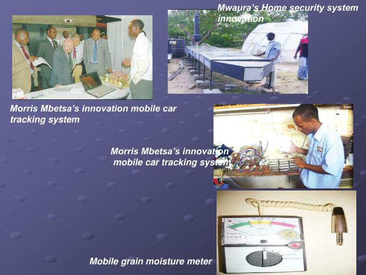 Mwaura's Home security system innovation