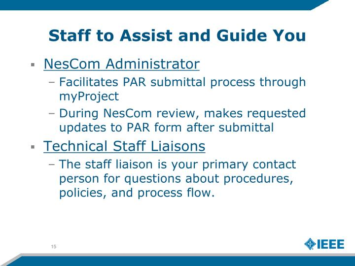 Staff to Assist and Guide You