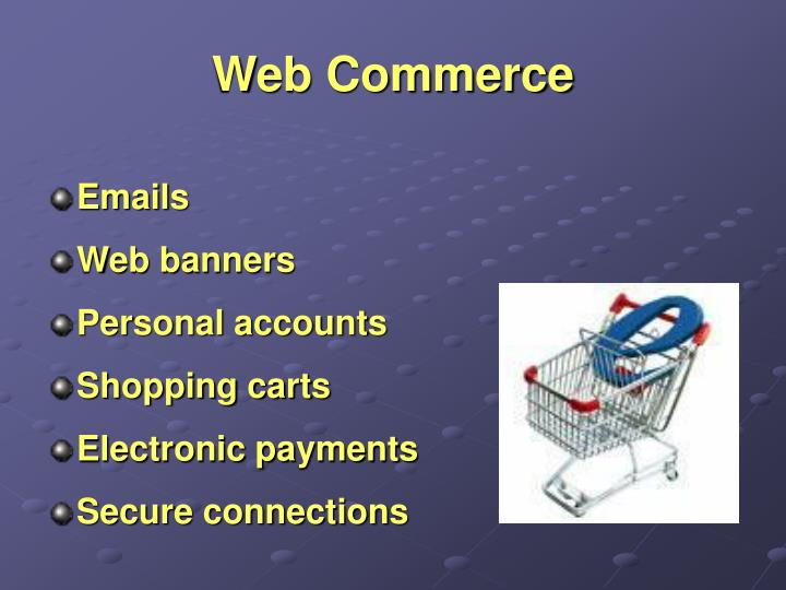 Web Commerce