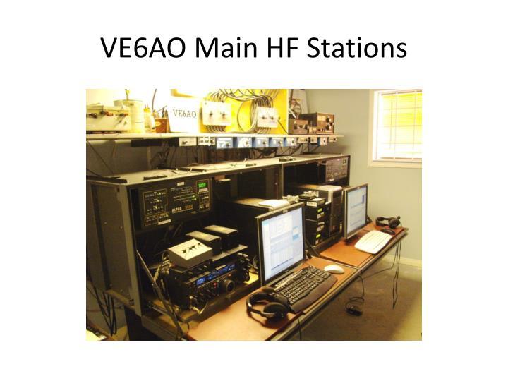VE6AO Main HF Stations