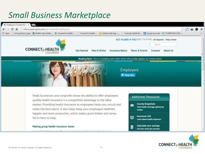 Small Business Marketplace