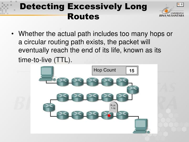 Detecting Excessively Long Routes