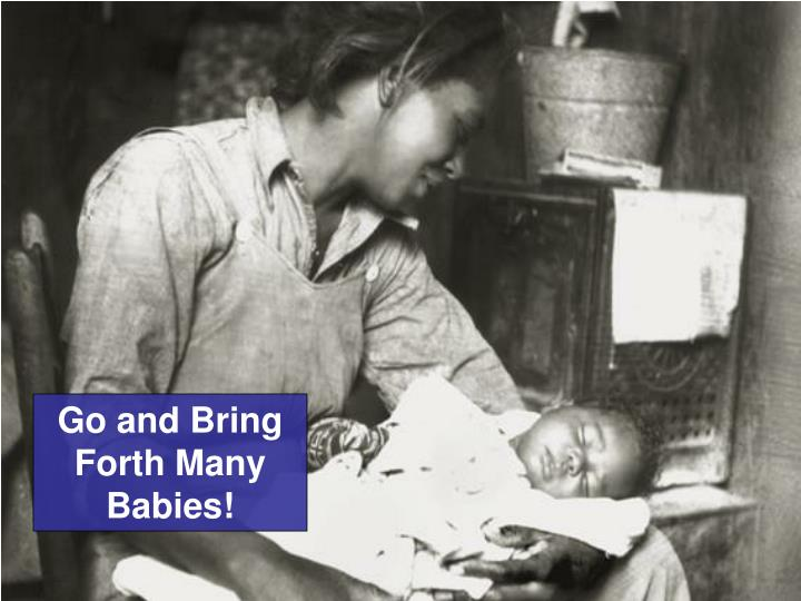 Go and Bring Forth Many Babies!