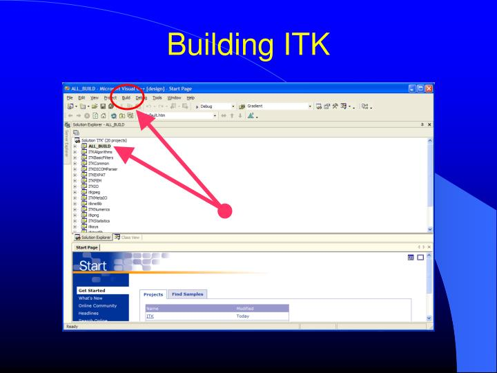 Building ITK