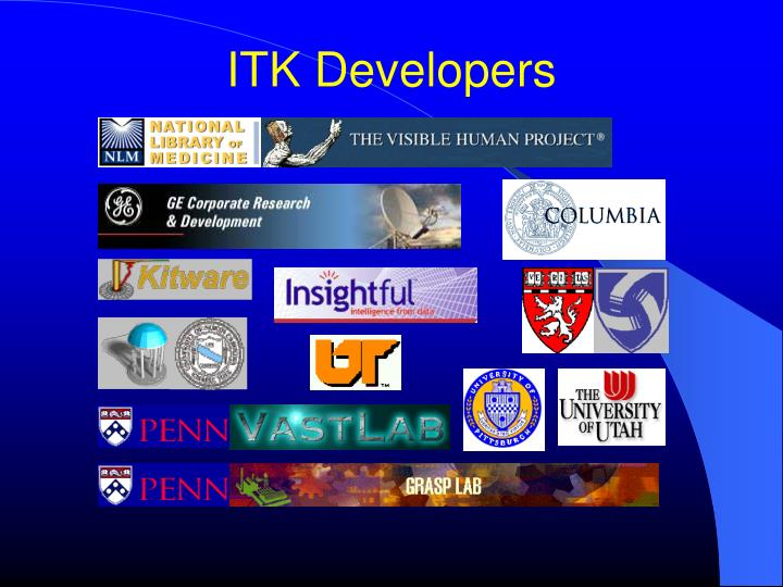 ITK Developers