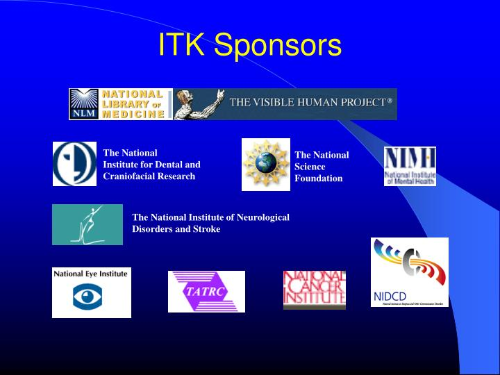 ITK Sponsors