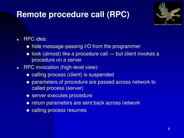 RPC idea: