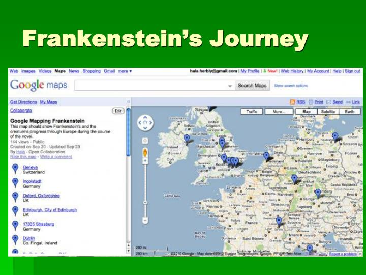 Frankenstein's Journey
