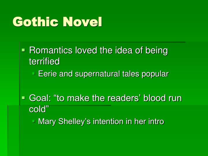 Gothic Novel