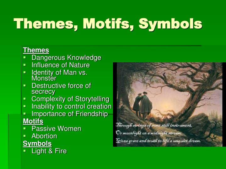 Themes, Motifs, Symbols