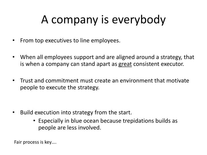 A company is everybody