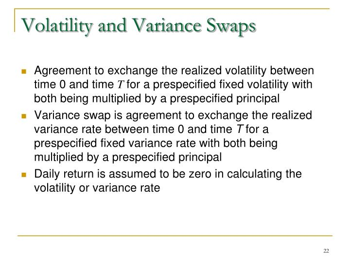 Volatility and Variance Swaps