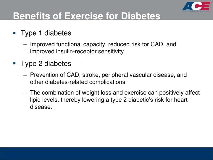 Benefits of Exercise for Diabetes