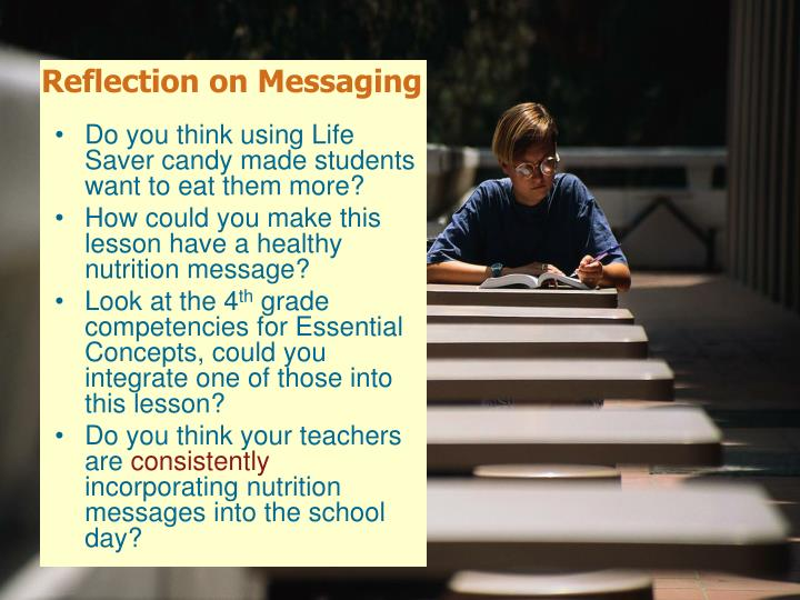 Reflection on Messaging