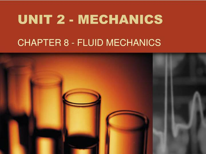 Unit 2 mechanics