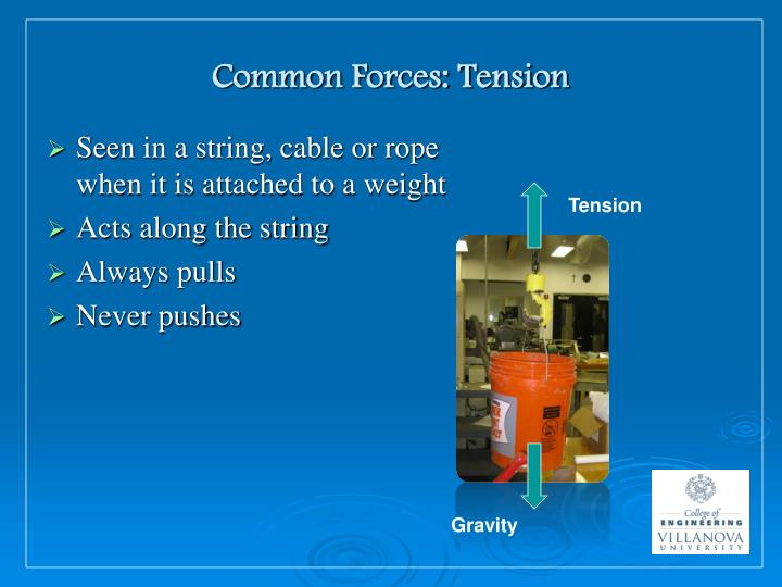 Common Forces: Tension