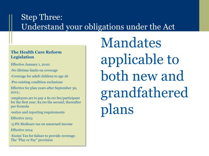 Mandates applicable to both new and grandfathered plans