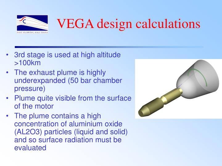 VEGA design calculations