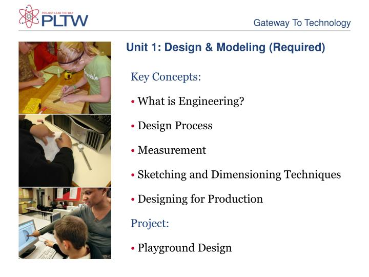Unit 1: Design & Modeling (Required)