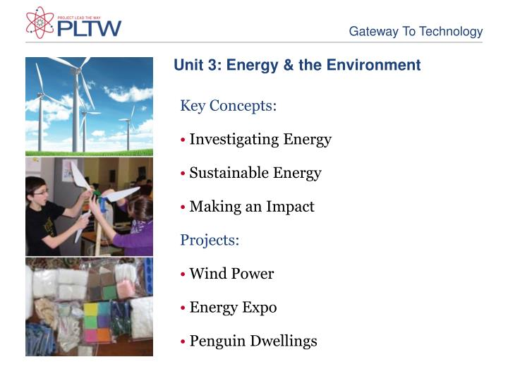 Unit 3: Energy & the Environment