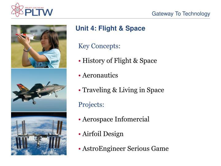 Unit 4: Flight & Space