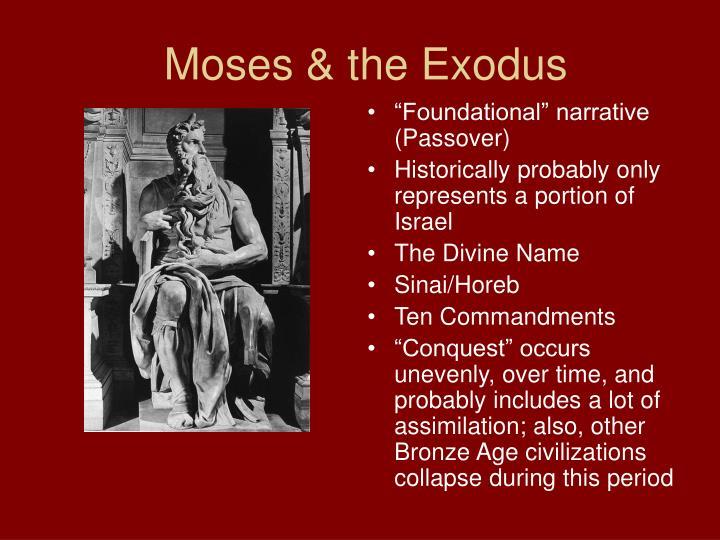 Moses & the Exodus