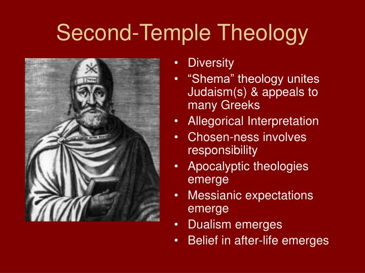 Second-Temple Theology