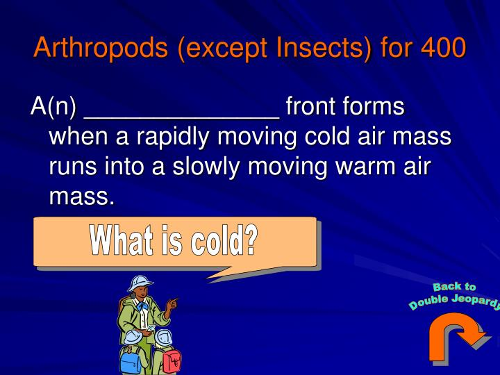 What is cold?