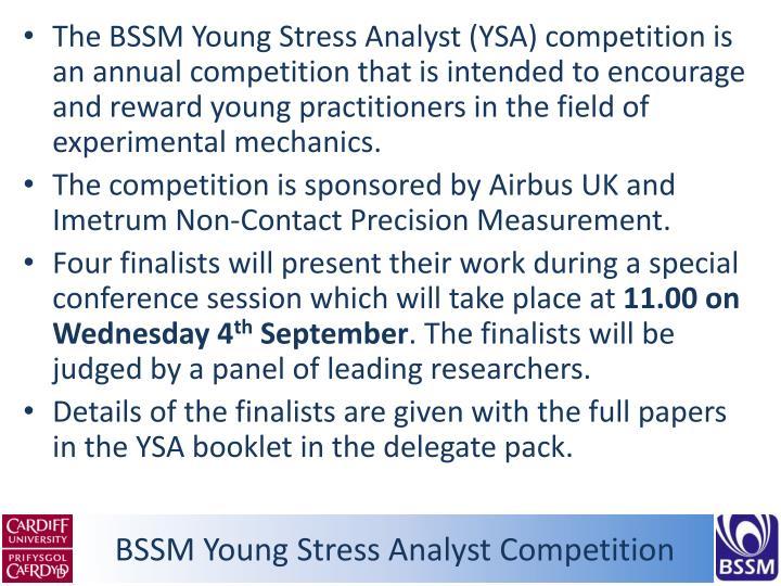 BSSM Young Stress Analyst