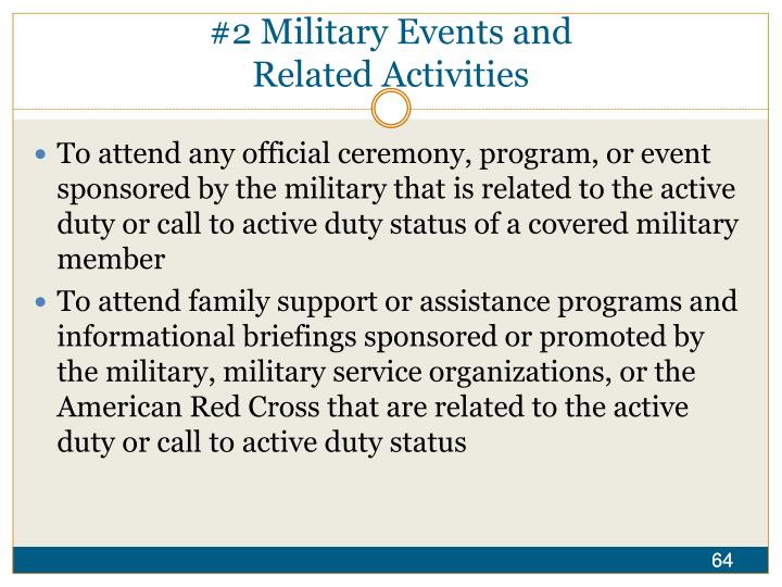 #2 Military Events and