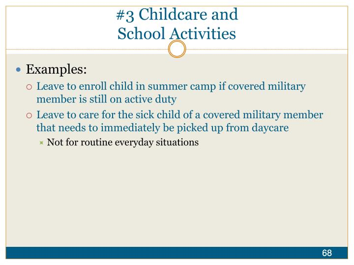 #3 Childcare and