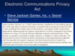 electronic communications privacy act1