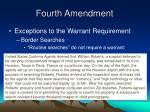 fourth amendment10