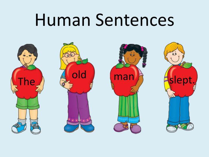 Human Sentences