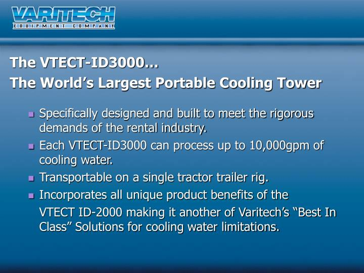 The VTECT-ID3000…