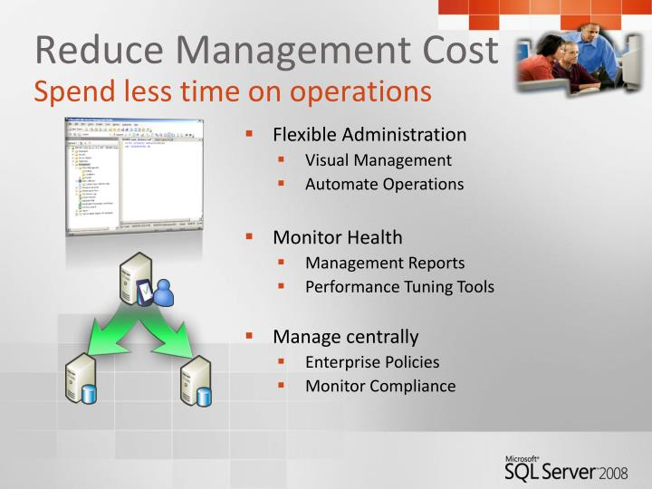 Reduce Management Cost