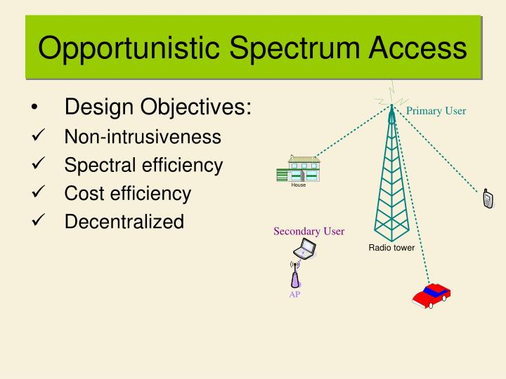 Opportunistic Spectrum Access