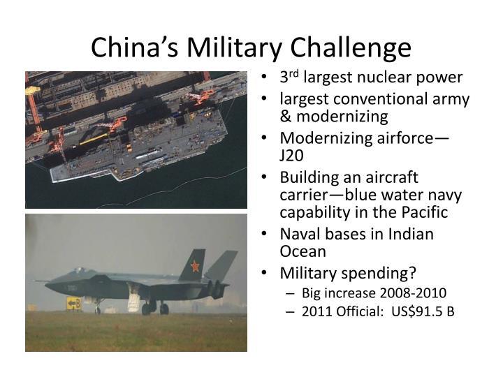 China's Military Challenge