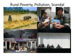 rural poverty pollution scandal