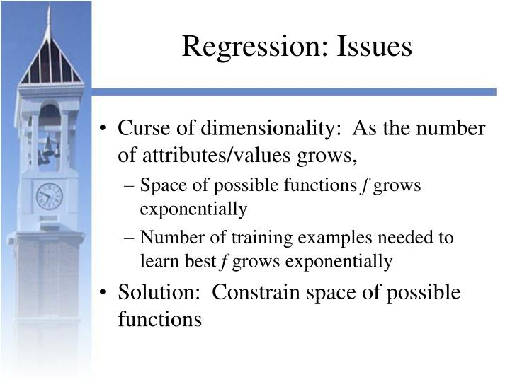 Regression: Issues