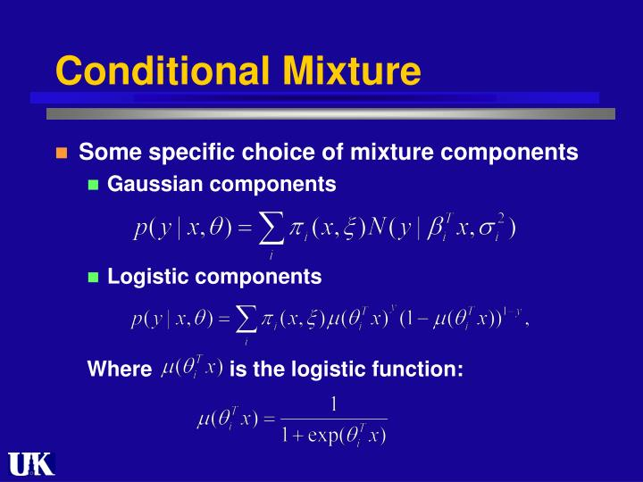 Conditional Mixture